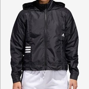 Adidas ID cropped woven shell jacket